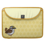 White-throated Sparrow MacBook Pro Sleeve