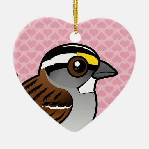 White-throated Sparrow Ornaments