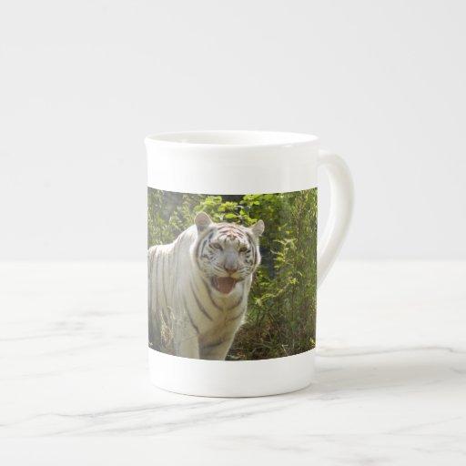 White tiger 008 porcelain mugs