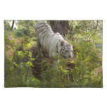White tiger 010 placemats