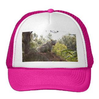 White tiger 012 trucker hat