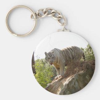 White tiger 013 keychain