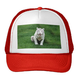 White tiger 018 trucker hat
