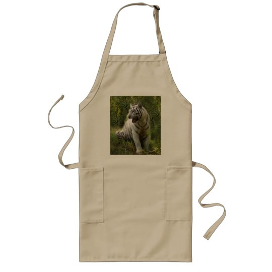 White tiger 020 long apron