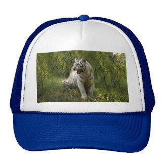 White tiger 020 trucker hat