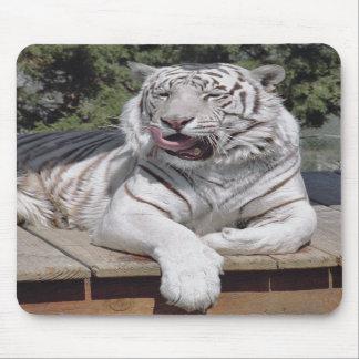 White Tiger 10 Mousepad