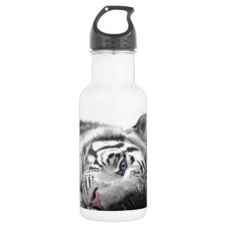 White tiger 18oz water bottle