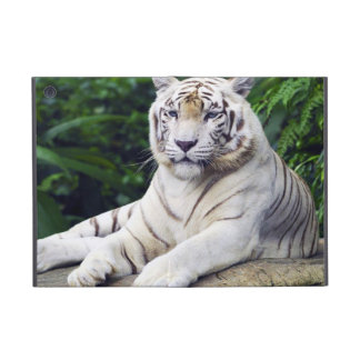 White Tiger 1  Powiscase Cover For iPad Mini