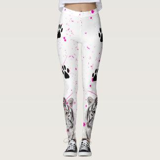 White Tiger 2 Leggings