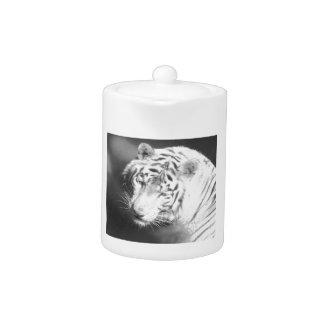 White Tiger 2 Teapot