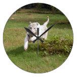 White Tiger 3825e Round Clocks