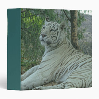 White Tiger 3 Ring Binder