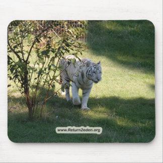 White Tiger 4657e copy Mouse Pad