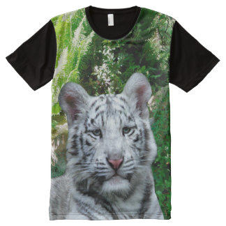 White Tiger All-Over-Print T-Shirt
