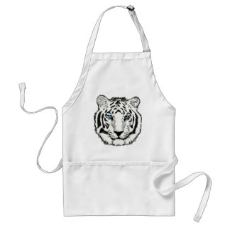 White Tiger apron