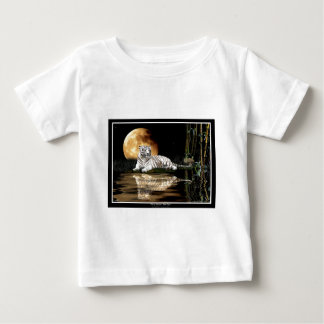 WHITE TIGER Art Design Baby T-Shirt