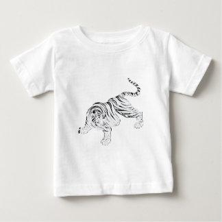 White Tiger Baby T-Shirt