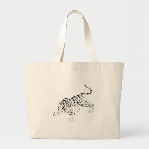 White Tiger Bags