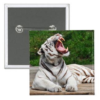 White Tiger, Bengal Tiger Button