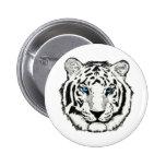 White tiger button