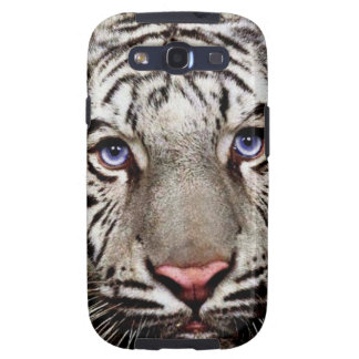 White Tiger Galaxy S3 Cases
