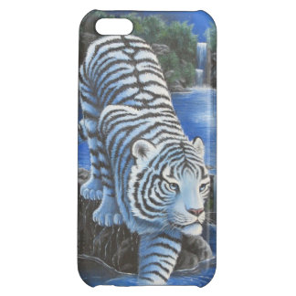 White Tiger Case For iPhone 5C