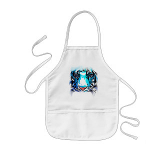 White Tiger Close and Personal Apron