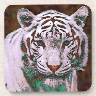 white tiger coasters