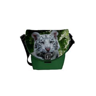 White Tiger Courier Bag