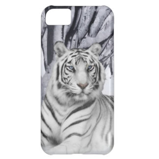 White TIger Cover For iPhone 5C