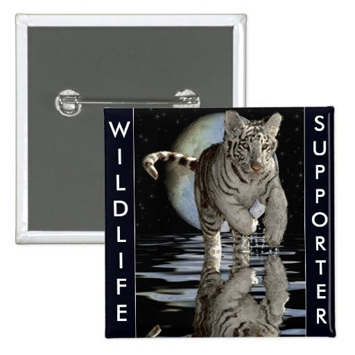 WHITE TIGER CUB Collection Pins
