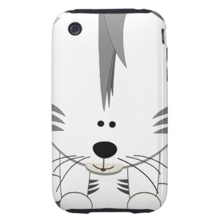 White Tiger Cub iPhone 3 3GS Tough Case