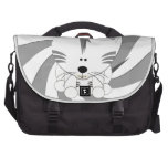 White Tiger Cub Laptop Commuter Bag