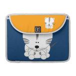 White Tiger Cub Macbook Pro 13 inch Sleeve MacBook Pro Sleeves