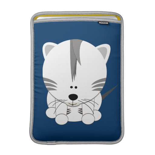 White Tiger Cub Rickshaw iPad or Laptop Sleeve Sleeve For MacBook Air