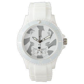 White Tiger Cub Sporty Watch