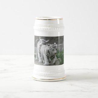 White Tiger Cubs 18 Oz Beer Stein