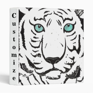 White Tiger Custom Binder