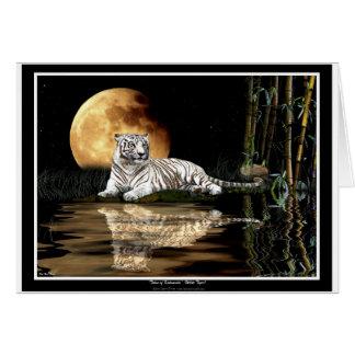 WHITE TIGER Endangered Species Series Card