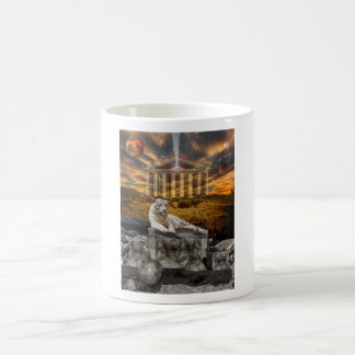 White Tiger Extinction is Forever copy Classic White Coffee Mug
