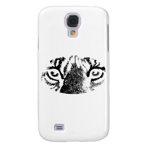 White Tiger Eyes The MUSEUM Zazzle Gifts Samsung Galaxy S4 Covers