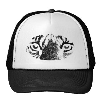 White Tiger Eyes The MUSEUM Zazzle Gifts Mesh Hat