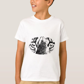 White Tiger Eyes The MUSEUM Zazzle Gifts T-Shirt