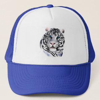 White Tiger Face Hat