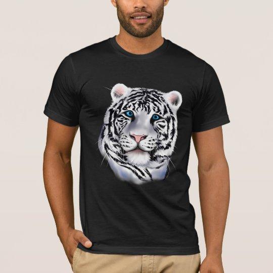 White Tiger Face Shirt