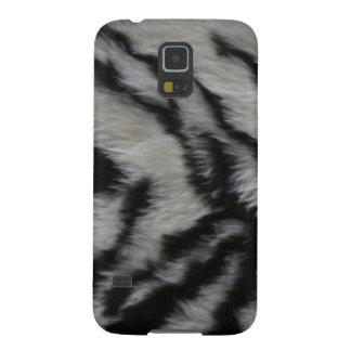 White Tiger Fur Galaxy S5 Cover