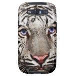 White Tiger Galaxy S3 Cases