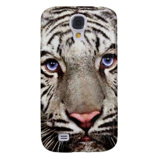White Tiger Galaxy S4 Case