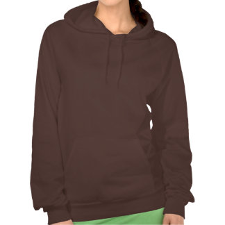 White Tiger Girl Mage Hooded Pullover