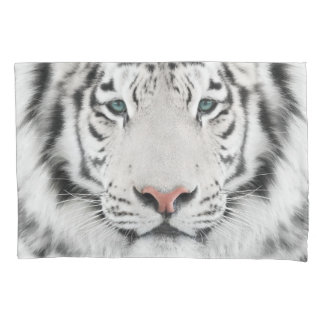 White Tiger Head (1 side) Pillowcase